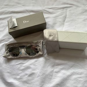 Dior So Real sunglasses in silver *new w/tags*